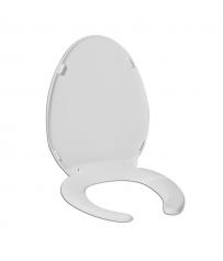 Κάθισμα λεκάνης ΑΜΕΑ με κάλυμμα & εμπρόσθιο άνοιγμα. Ponte Giulio 130 SERIES B41-DEO-26
