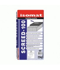Isomat Επιπεδωτικό τσιμεντοκονίαμα για γέμισμα δαπέδων SCREED-100