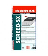 Isomat Ταχύπηκτη κονία-συνδετικό υλικό για την παρασκευή τσιμεντοκονιών δαπέδου SCREED-SX