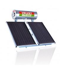 Εμαγιέ (Glass) Ηλιακός Θερμοσίφωνας Velvet Eco 2.6 200 λίτρα